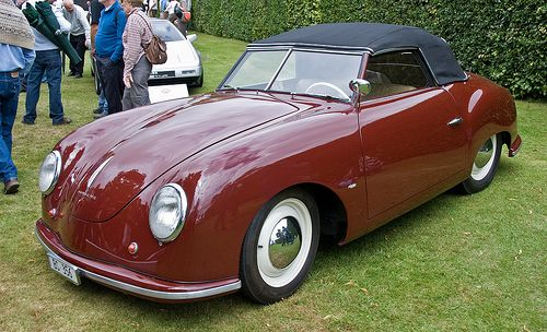 Nazi Porsche Type '64- The 'snafu' with the sale and where it is now?