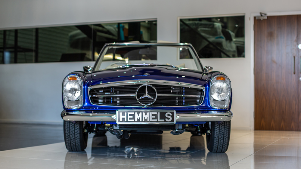 Introducing The Classic 280SL Mercedes Benz EV By Hemmels Of Wales