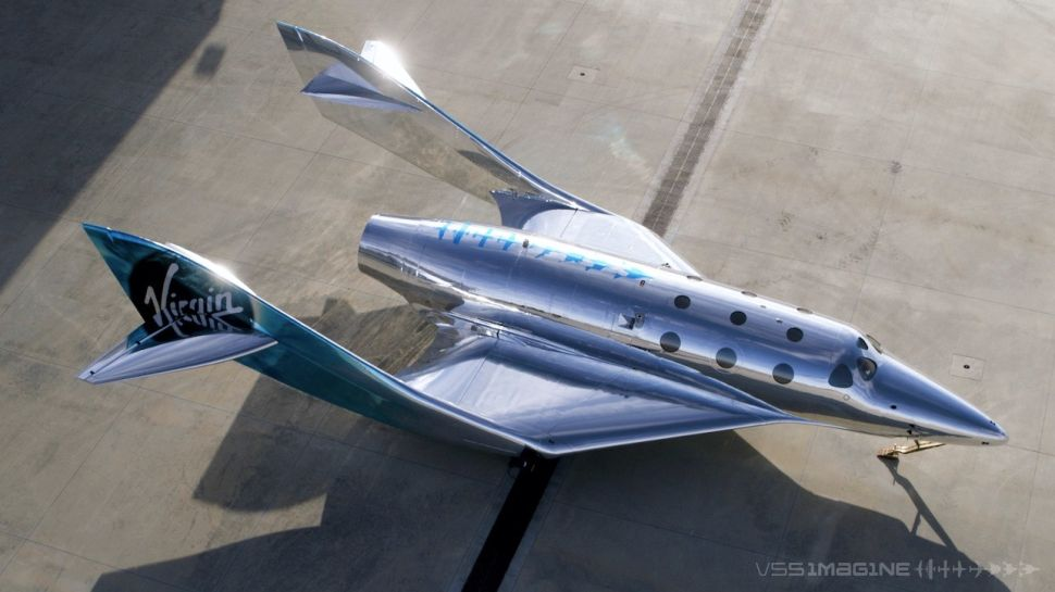 Virgin Galactic Unveil The VSS Imagine, Congratulations On A Job Well Done