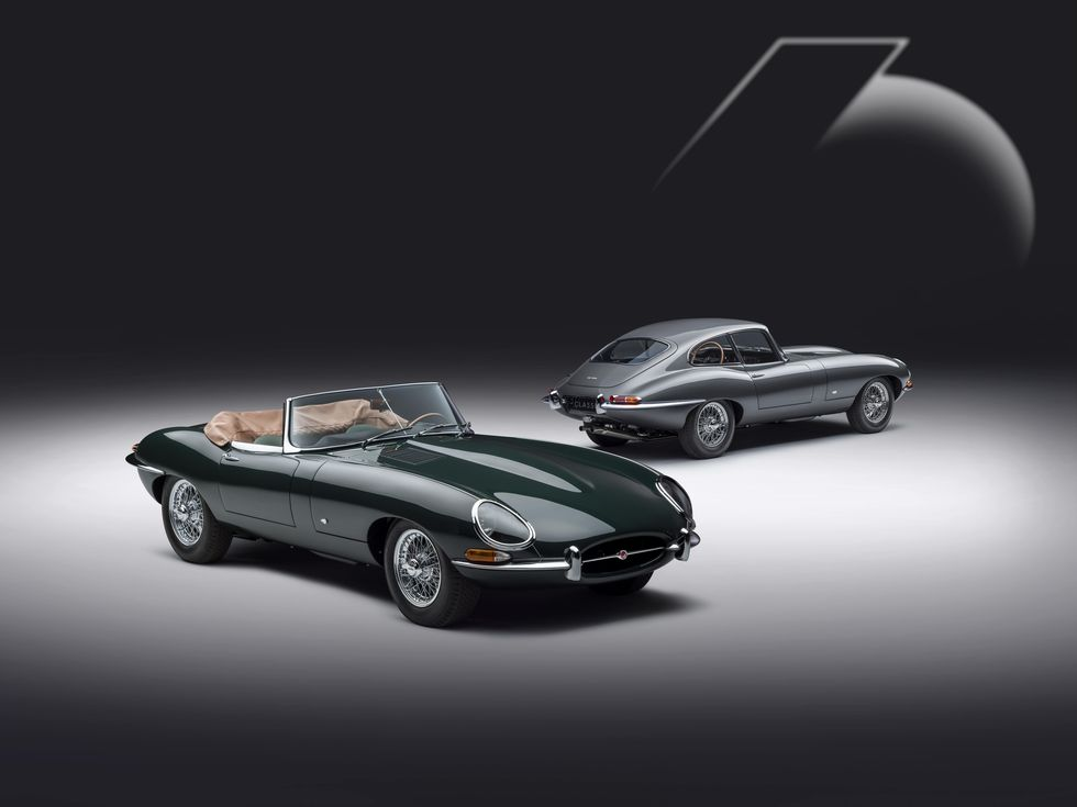 Reliving One Extraordinary Drive 60th Anniversary Edition E-Type Pair