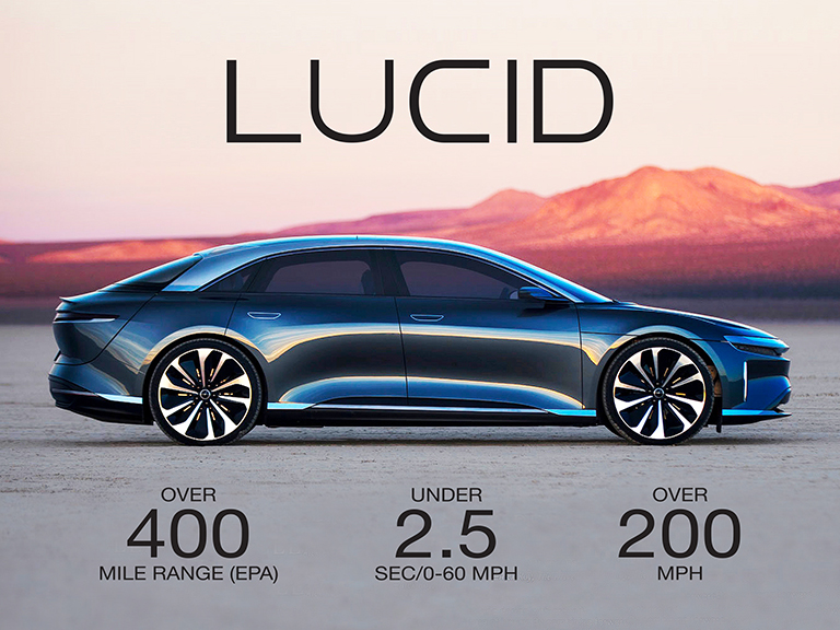 Introducing The Lucid Air, Fastest Charging EV In The World