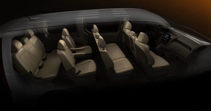 Exterior and Interior Of The Hyundai Staria
